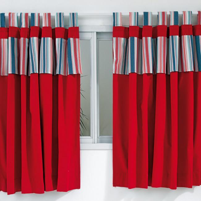 Granada para el hogar cortinas de cocina levitex for Cortinas para el hogar